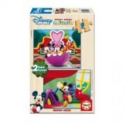 Educa Disney Mickey egér fa puzzle, 2x9 darabos