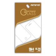 AMFIN 0.26mm Anti Explosion 9H Hardness Anti-Scratch Premium Tempered Glass For Micromax Bolt Supreme 4 Q352 Tempered Glass