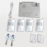IP-AP006 - безжична алармена система за дома с 4 обемни датчика за движение, 2 МУКа и 2 дистанционни