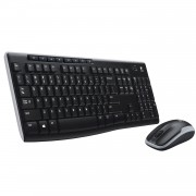 Kit tastatura si mouse Wireless Logitech MK270