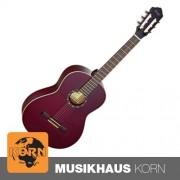 Ortega Konzertgitarre R131 SN Wine Red Gloss Small Neck