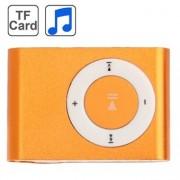 Mp3 Spelare med metall-clip - Orange
