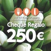 Cheque regalo 250 €
