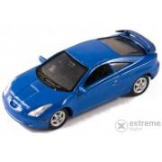 Mașinuță Welly Toyota Celica 2002 albastru, 1:60-64