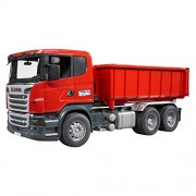 SCANIA TRUCK WITH ROLL OF CONTAINER