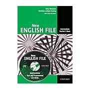 New English File Intermediate Teacher's Book with Test and Assessment CD-ROM