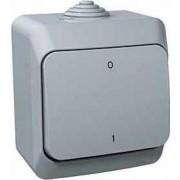 CEDAR PLUS Kétpólusu kapcsoló 16 A IP44 Szürke WDE000620 - Schneider Electric