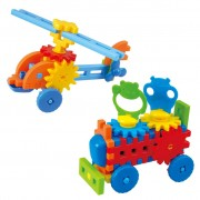 Playgo Helicopter/Truck Construction Set Little Engineer 2022