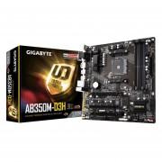 Tarjeta Madre Gigabyte GA-AB350M-D3H DDR4 AM4 USB 3.1