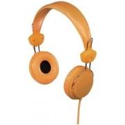 Casti Stereo Hama Joy, Jack 3.5mm, Microfon (Portocaliu)