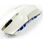 Mouse Optic E-Blue Cobra White USB 2400DPI 4000FPS
