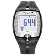 Polar FT1 Armband apparaat zwart/transparant 2017 Multifunctionele horloges