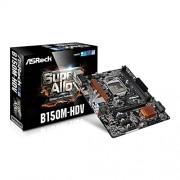 B150M ASROCK-Scheda madre Intel HDV B150, S 1151, DDR4, SATA 6GBps)