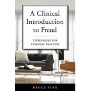A Clinical Introduction to Freud by Bruce Fink