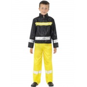 Childs Fireman Costume - SMALL