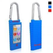 Snugg iPod Nano 7th Generation Case - Silicone Rubber Case & (Blue) for Apple iPod Nano 7th Generation