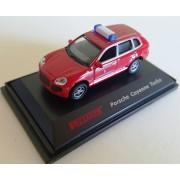 Macheta Porsche Cayenne Turbo, pompieri, H0, 1:87, Vollmer