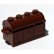 Lego Treasure Chest (Brown Building Accessory)