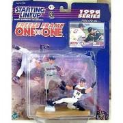 Nomar Gacaparra and Jim Edmonds Figures - 1999 Starting Lineup Freeze Frame O...