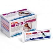 POLY 10 (V10) RA - VACINA P/ CÃES - 10 doses c/ 10 kits de aplicação