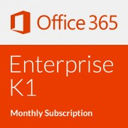 Microsoft Office 365 Enterprise K1 with Yammer - Abonament lunar (o lună)
