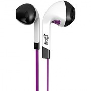 iFrogz IF-ITN-PRP Audio InTone Headphones with Mic Purple