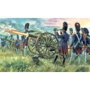 Italeri - Napoleonic Wars - French Imperial Guard Artillery figura makett 6135