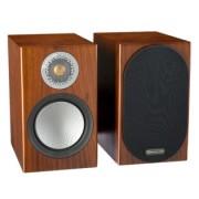 Boxe - Monitor Audio - Silver 50 Black Oak