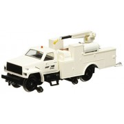Bachmann Industries Maintenance of Way Hi Rail Equipment Truck with Crane DCC Equipped Norfolk South