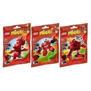 LEGO Mixels Infernites Set of 3 - 41500 41501 41502
