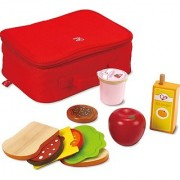 Hape Lunch Box Kid's Wooden Kitchen Play Food Sets and Accessories