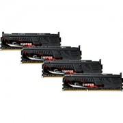 Memorie G.Skill Sniper 16GB (4x4GB) DDR3 PC3-19200 CL11 1.65V 2400MHz Dual Channel Quad Kit, F3-2400C11Q-16GSR