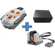 Lego Transmisor Receptor IR Power Functions 8884 + 8885 (Viene con una caja de regalo)
