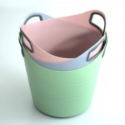 Flexi Tub with Handles (pastels)
