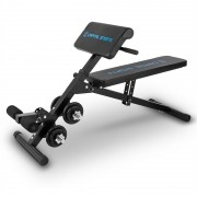 Capital Sports Sit'n Curl, Sit Up bench с комплект гири (FIT1-Varient)