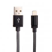 Cablu de date Lightning USB 1m, Negru