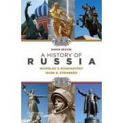A History of Russia by Nicholas V. Riasanovsky