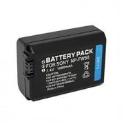 NP-FW50 - Li-ion - Batteri - till for Sony DLSR A33, A35, A37,A5000. NEX-3, NEX-3A, NEX-3D - 7.4V - V - 1500mAh - mAh
