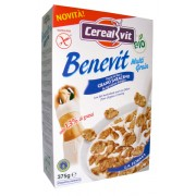 Cereale bio Benevit din hrisca si orez (fara gluten) 375g