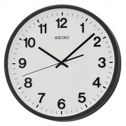 Seiko reloj de pared analógico unisex Negro QXA640K