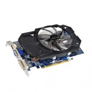 Gigabyte AMD Radeon R7 250 2GB DDR3 Graphics Card ( GV-R725OC-2GI ) PCI-E 3.0 / 2GB / DDR3 / 128 bit / D-SUB / Dual-Link DVI-D / HDMI / OC Edition / Single FAN