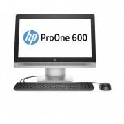 """HP - ProOne 600 G2 3.2GHz i5-6500 21.5"""" 1920 x 1080Pixeles Pantalla táctil Negro, Plata - P1G73EA"""