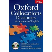 Oxford Collocations Dictionary for Students of English by Colin McIntosh