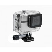 EZVIZ S1 fehér akció sport kalandkamera - Vízálló, porvédett (IP67) házban, Wifi, beépített GPS, G-Szenzor, Bluetooth 4.0, 152°-os nagy látószögű lencse, MicroSD kártya foglalattal (64GB-ig), 40méterig vízálló, 1080p (Full HD) 60kép mp