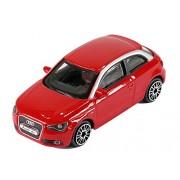 """Bburago 1/43 Street Fire (3.5"""") Audi A1 - Red"""