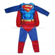 Super Boy Childs Non-Padded Costume - Ages 2 - 3