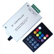 RGB led szalag vezérlő, 144W, rádiós, 18 gombos, zenére váltja a színt. Life Light Led
