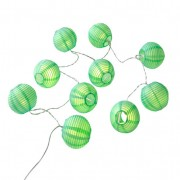 LED-lampionslinger, groen