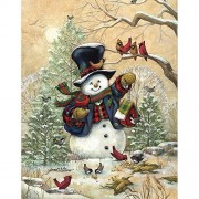 "Bits and Pieces ""Winter Friends"" 300 Piece Puzzle by Janet Stever"