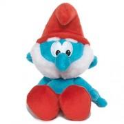 Smurfs - Jak001 - Schtroumpfs - Beanie en Peluche - Papa Smurf - 20 cm